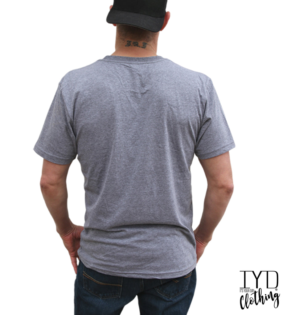 Back of Men's Crew Neck - It's Your Day Clothing