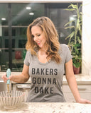 Bakers Gonna Bake V Neck Shirt - It's Your Day Clothing
