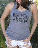Boating And Boozing Tank Top - It's Your Day Clothing