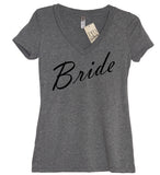 Bride V Neck Shirt - It's Your Day Clothing