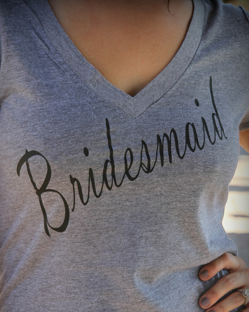 Bride or Bridesmaid Shirt - It's Your Day Clothing