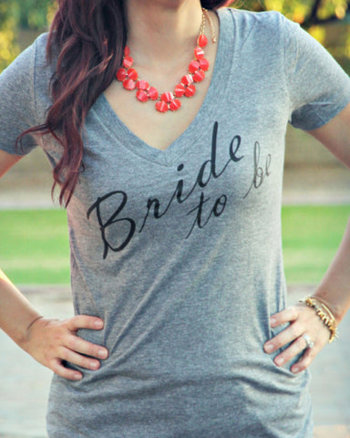 Bride to be Shirt - It's Your Day Clothing