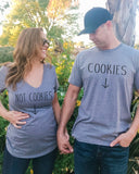 Cookies & Not Cookies Couples Shirts - It's Your Day Clothing