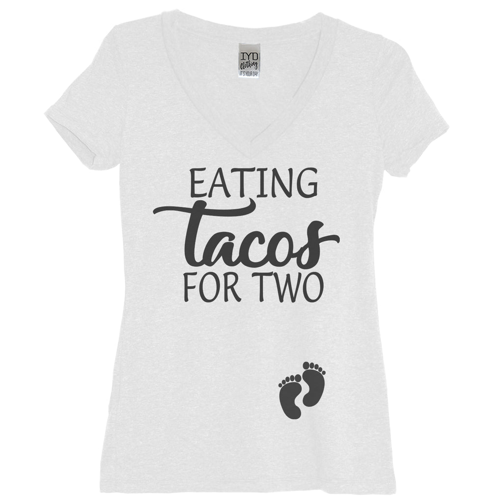 Eating Tacos For Two Maternity Shirt - It's Your Day Clothing