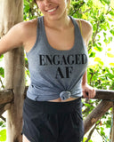 Engaged AF (As F) Tank - It's Your Day Clothing