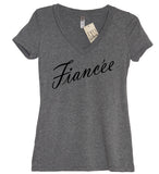 Fiancee V Neck Shirt - It's Your Day Clothing
