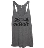 Go Outside Tank - It's Your Day Clothing