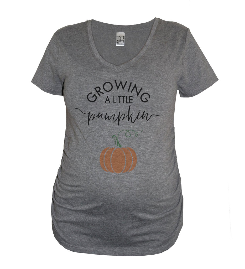 Growing A Little Pumpkin Maternity Shirt - It's Your Day Clothing
