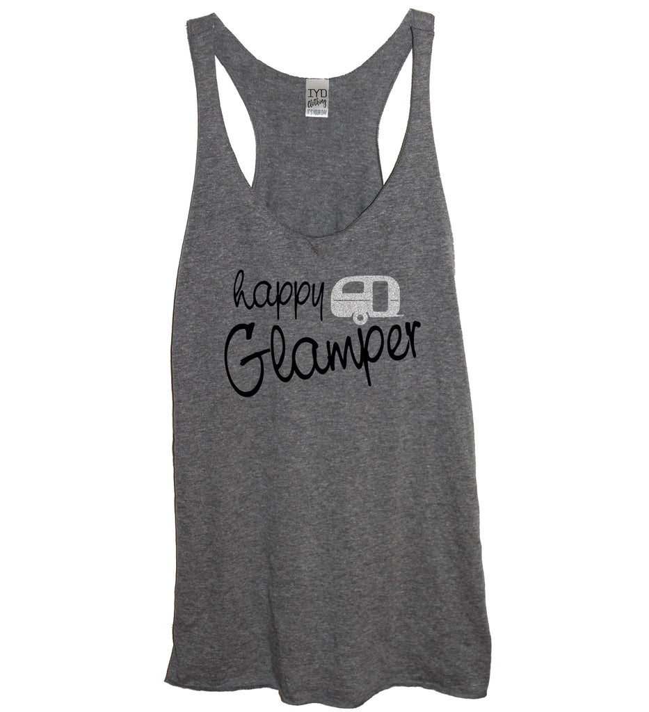 Glitter Happy Glamper Tank - It's Your Day Clothing