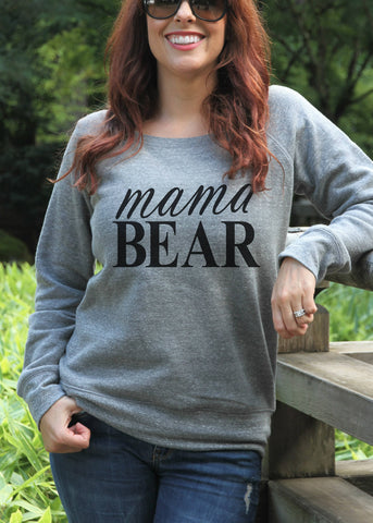 Mama Bear Sweatshirt - It's Your Day Clothing