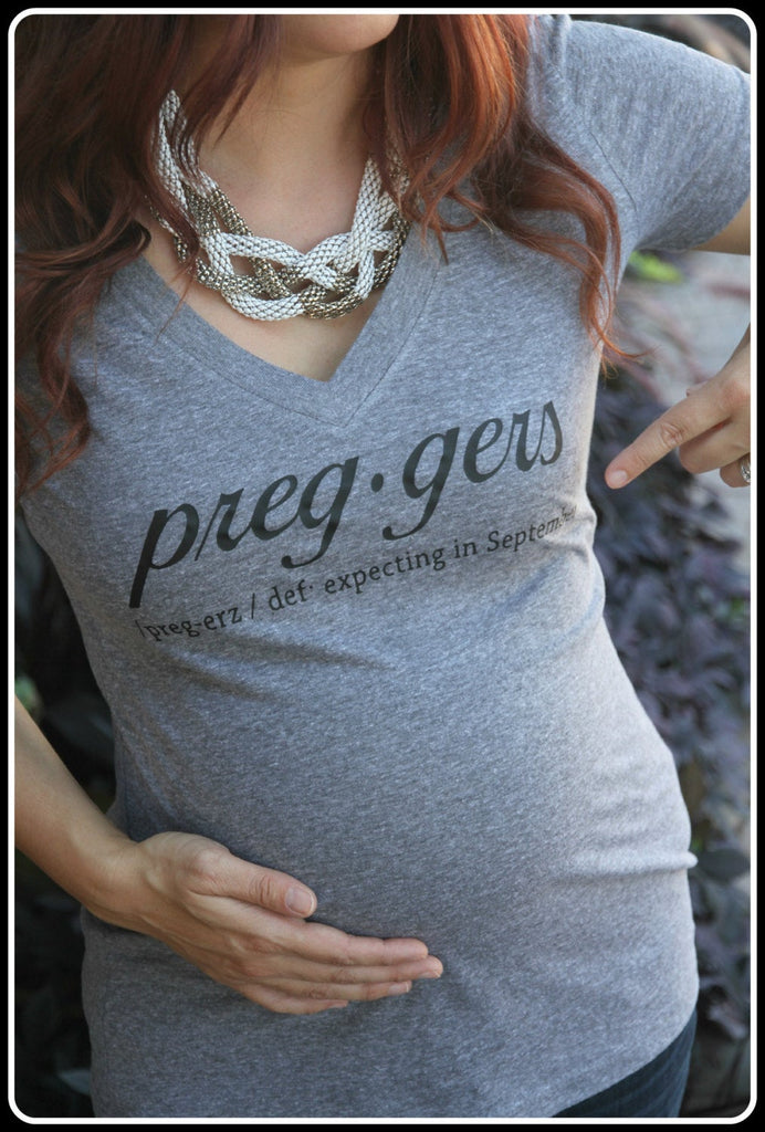 Preggers Definition Shirt - It's Your Day Clothing