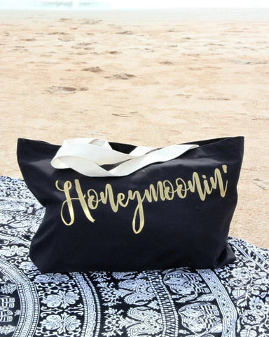 Honeymoonin' Tote Bag - It's Your Day Clothing