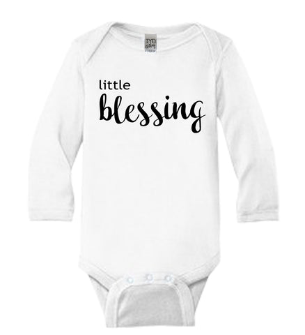 Little Blessing Baby Bodysuit - It's Your Day Clothing