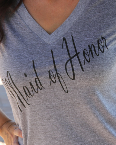 Maid of Honor Shirt - It's Your Day Clothing