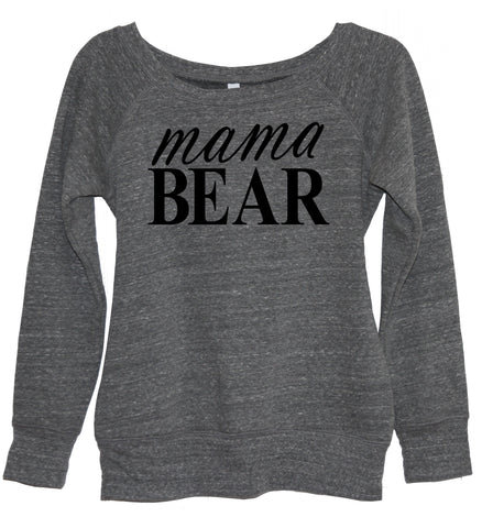 Baseball Mom Crew Neck Shirt