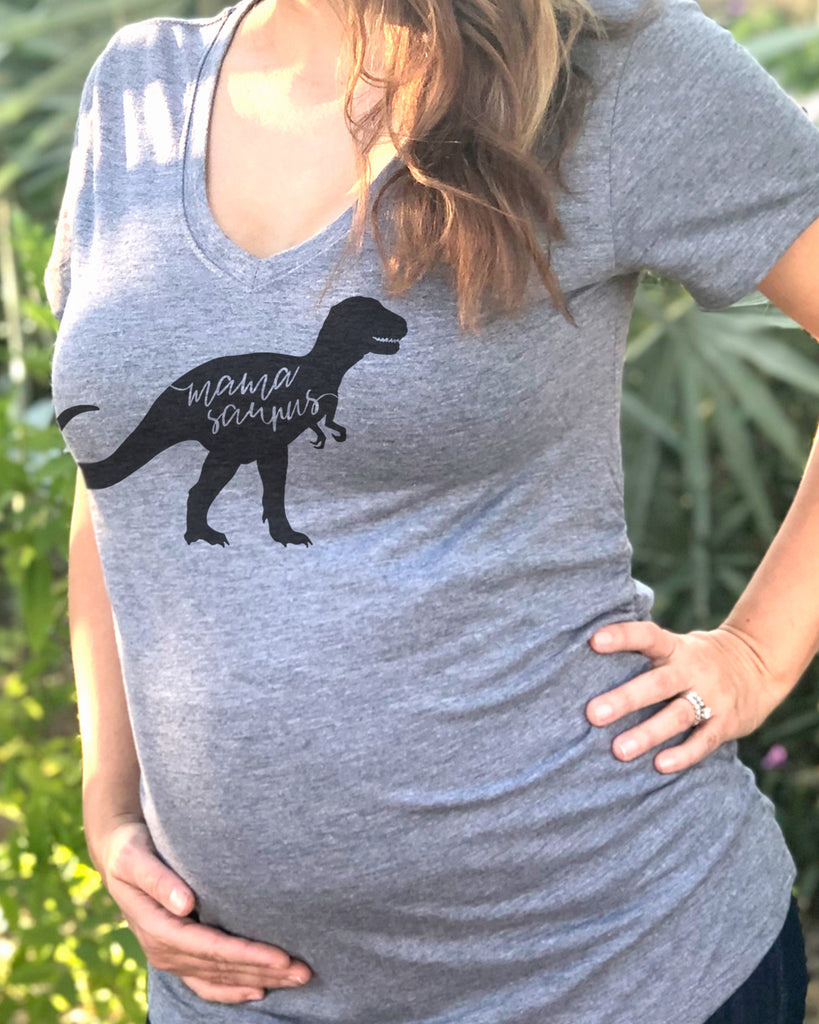 Mamasaurus Maternity Shirt - It's Your Day Clothing