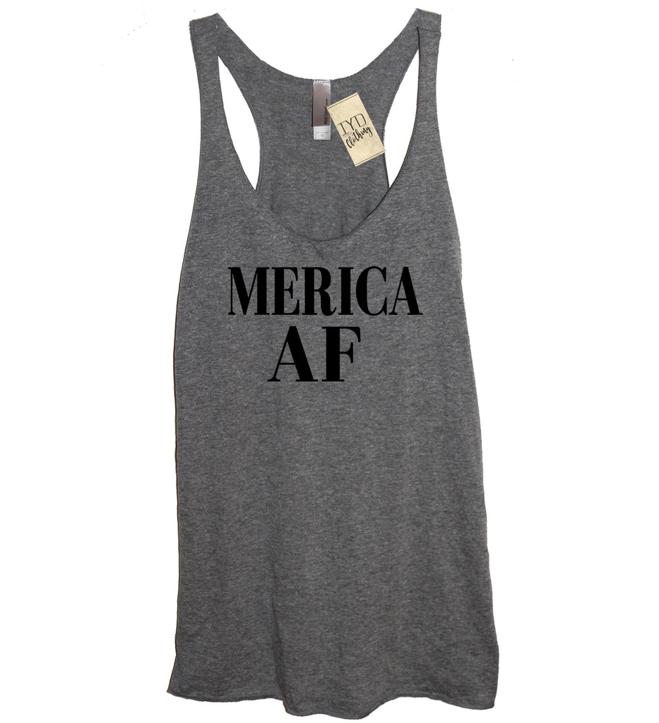 Merica AF (As F--k) Tank - It's Your Day Clothing