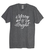 Merry & Bright Holiday Shirt - It's Your Day Clothing