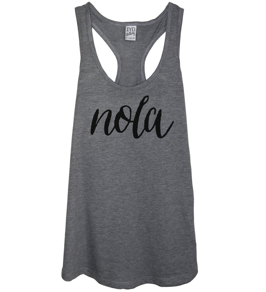 Nola Tank Top Shirt - It's Your Day Clothing