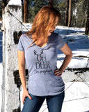 Oh Deer I'm Pregnant Shirt - It's Your Day Clothing