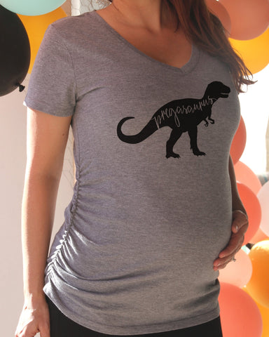 Pregasaurus Maternity Shirt - It's Your Day Clothing