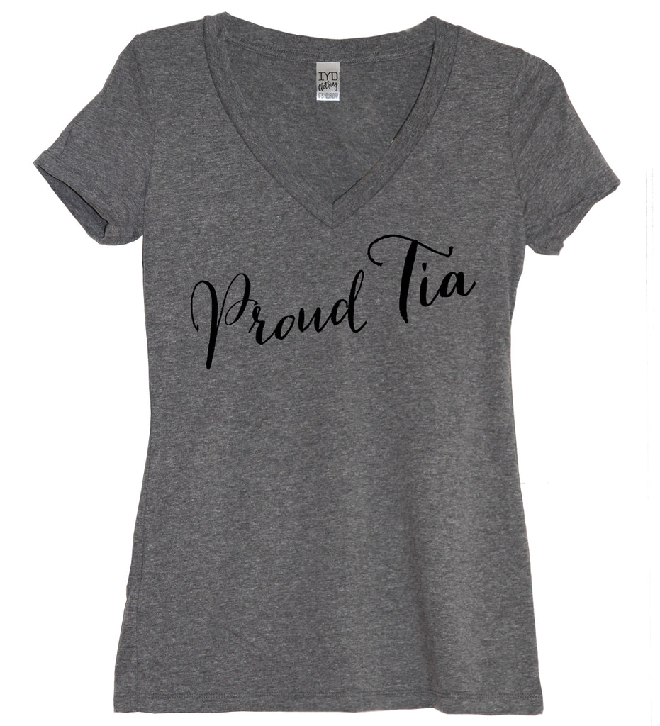 Proud Tia Shirt - It's Your Day Clothing