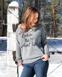 Rockin' The Aunt Life Sweatshirt - It's Your Day Clothing