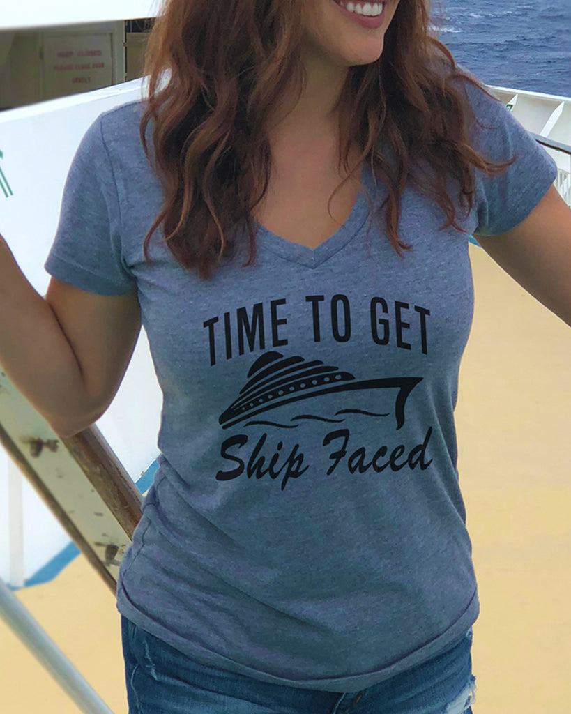 Time To Get Ship Faced Shirt - It's Your Day Clothing