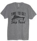 Time To Get Ship Faced Crew Neck - It's Your Day Clothing