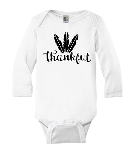Thankful Baby Bodysuit - It's Your Day Clothing