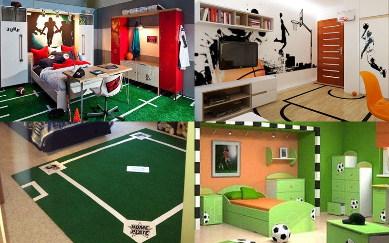 Sports Themed Bedrooms Ideas And Combinations For Your Little All Stars!