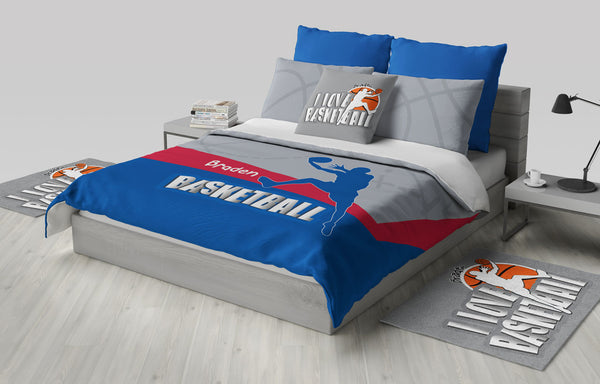 Custom Basketball Bedding