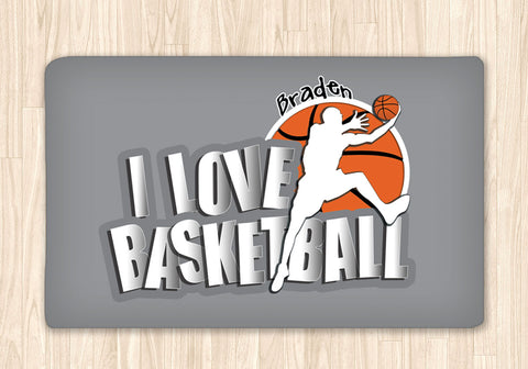 Basketball Area Rug Personalized - 2cooldesigns