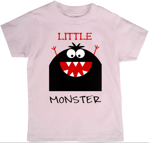 Little Monster T-Shirt - Toddler Sizes - 2cooldesigns