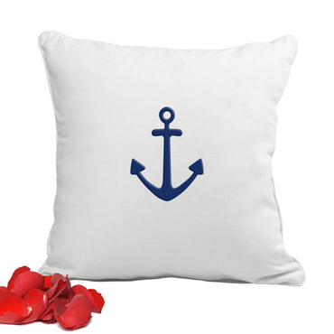 Anchor Throw Pillow - 2cooldesigns