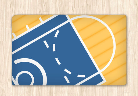 Basketball Fuzzy Area Rug, Personalized - 2cooldesigns