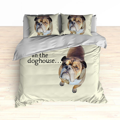 Personalized Photo Memories Comforter or Duvet, Dog Photo Bedding Set, Photo Bedding - 2cooldesigns