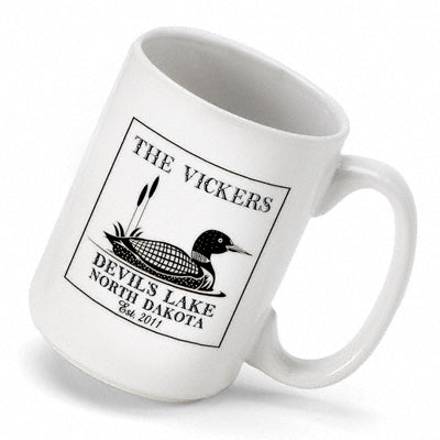 Cabin Series Coffee Mug - Loon - 2cooldesigns