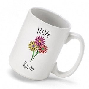 Bouquet Coffee Mug - 2cooldesigns