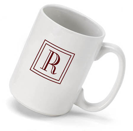 Monogram Mug - Classic - 2cooldesigns