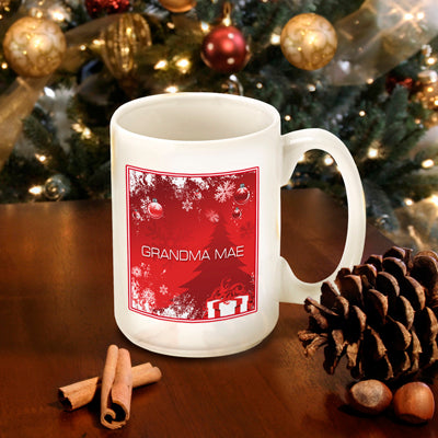 Winter Holiday Coffee Mug - Red Surprises - 2cooldesigns