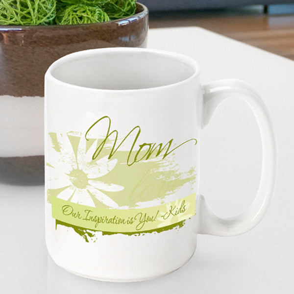 Mother's Day Coffee Mug - Daisy - 2cooldesigns