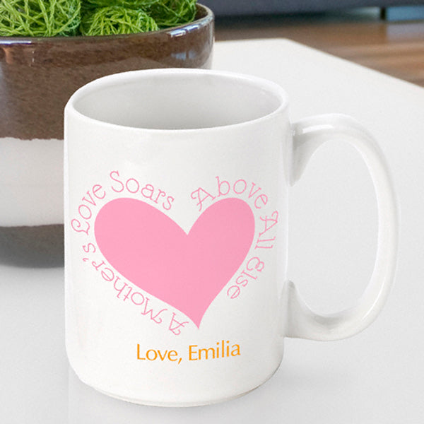 Mother's Day Coffee Mug - Above All - 2cooldesigns