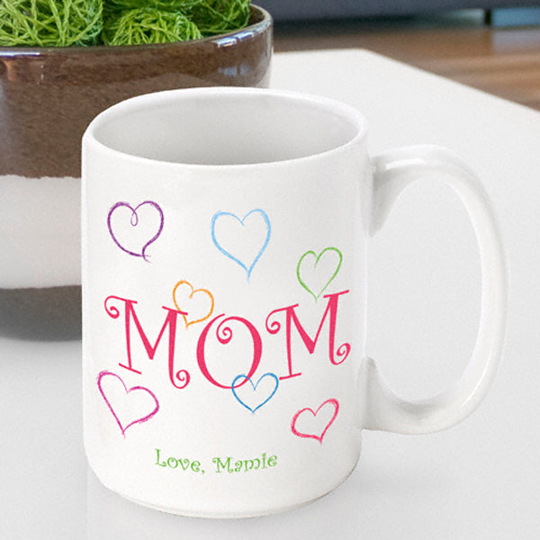 Mother's Day Coffee Mug - Mom's Love - 2cooldesigns