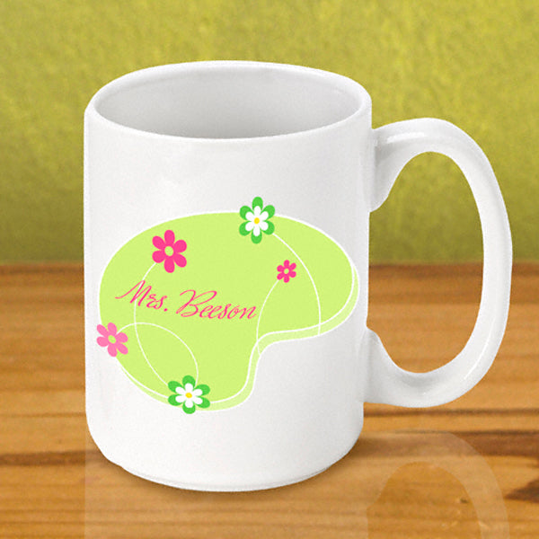 Gleeful Coffee Mug - Green - 2cooldesigns