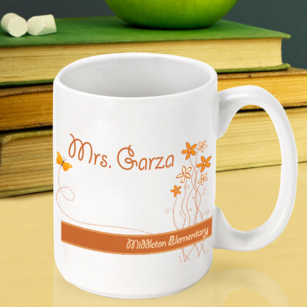 Teacher Coffee Mug - Breath of Spring - 2cooldesigns