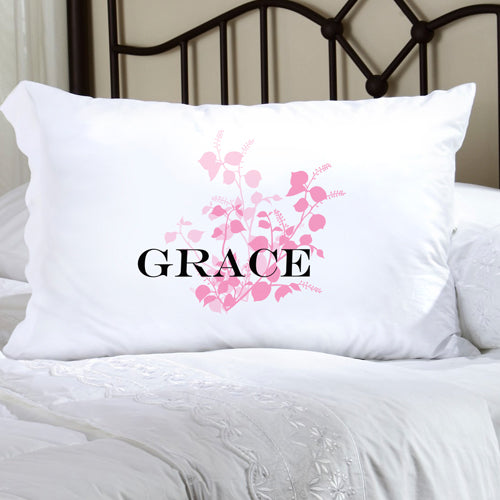Felicity Graceful Nature Pillow Case - Pink - 2cooldesigns