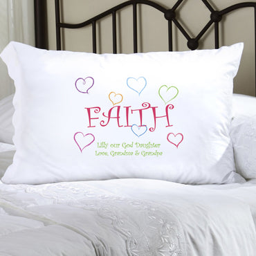 Faithful Pillow Case - 2cooldesigns