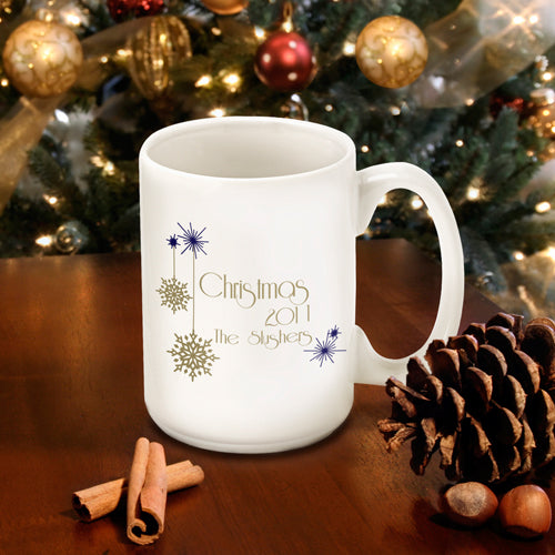 Christmas Coffee Mug - Evening - 2cooldesigns