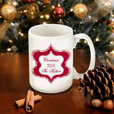 Christmas Coffee Mug - Tapestry - 2cooldesigns